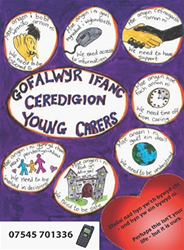 Ceredigion Young Carers logo