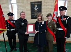 British Empire Medal Awarded for pastoral care to the Fire and Rescue Service in Wales and extensive charity work