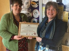 Ysgol Penglais: The first School in Ceredigion to receive the  Investors in Carers Bronze Award