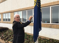 Flying the Flag for the Commonwealth in Ceredigion