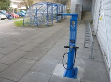 Cycle repair stations installed in Aberystwyth