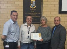 Ceredigion Sports Council awarded Gold Language Charter
