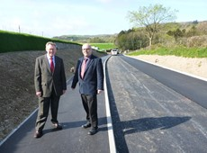 Completion of highways schemes in Penrhyn-coch and at IBERS