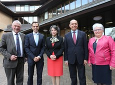 Minister and leaders meet to discuss Mid Wales Growth Deal