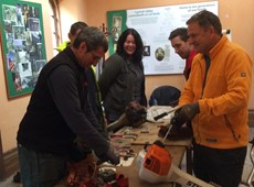 Upskilling volunteers to help look after the local environment