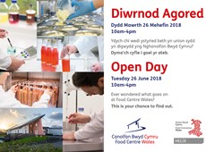Open day at Food Centre Wales to showcase state of the art manufacturing facilities