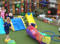 Nurseries and pre-schools join the Ceredigion Actif's 'Fit in 5' programme