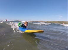 Ceredigion Youth Service delivers surf project for young people!