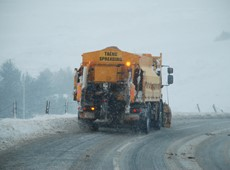 Criteria for Ceredigion road network gritting changed to consider the effect of altitude