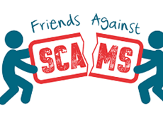 Join the stand against scams
