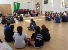Young Ambassadors all set to deliver physical activity opportunities in every Ceredigion Primary School