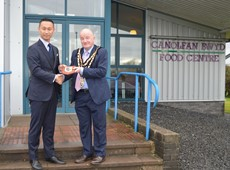 Food Centre Wales welcomes visitors from Yosano Town, Japan