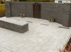 Memorial Garden opened with the unveiling of War Memorial at its new home