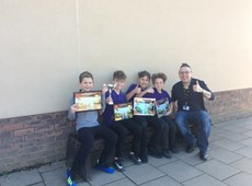Picture Story: Cered's Minecraft competition to promote the Welsh language