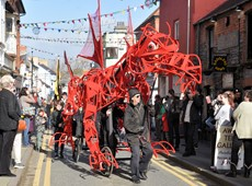 Success for Cardigan's first St. David's Day parade
