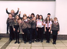 Young people raise money for Comic Relief