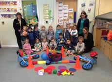 Initiative launched to increase nursery children's physical activity in Ceredigion