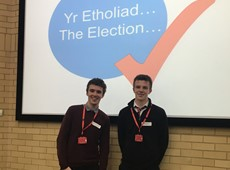 Thomas elected as Ceredigion's new Member of Youth Parliament