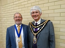 Councillor Peter Davies MBE elected as Chairman of Ceredigion County Council 2019-2020