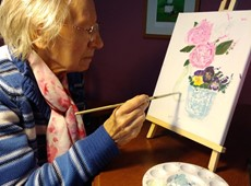 Art therapy improves residents well-being in Bryntirion residential home