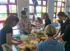 Cered organises a Thai food cooking evening