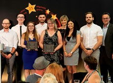Success for Ceredigion at Youth Work Excellence Awards!