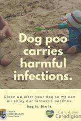 Dog poo carries harmful infections