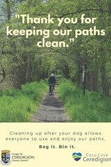 Thank you for keeping our paths clean